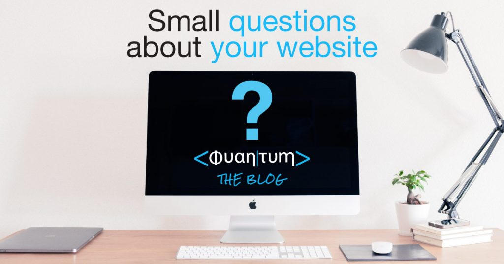 questions about your website