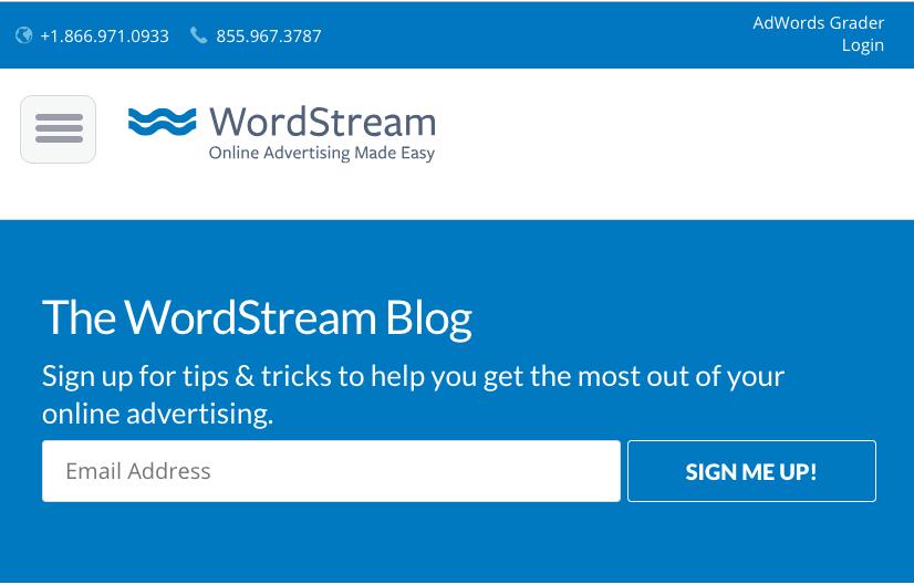wordstream the blog